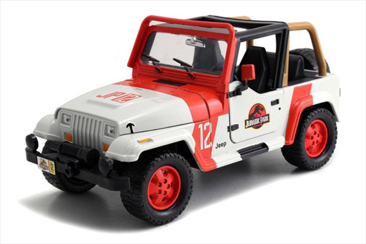Jurassic World - '92 Jeep Wrangler 1:24 Scale Hollywood Ride | Merchandise