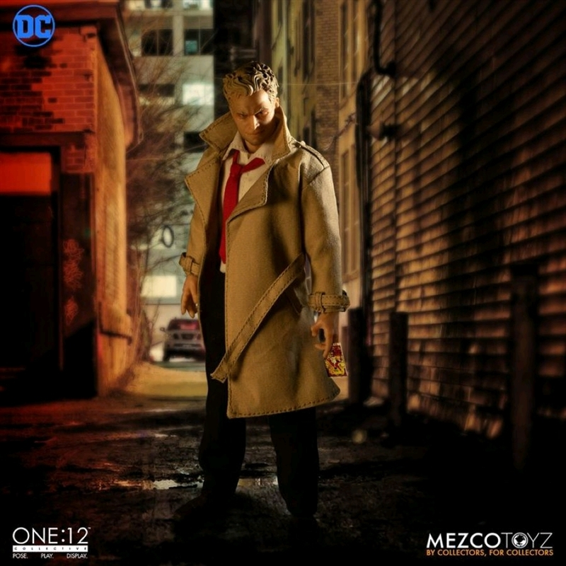 DC Comics - Constantine Deluxe One:12 Collective Action Figure | Merchandise