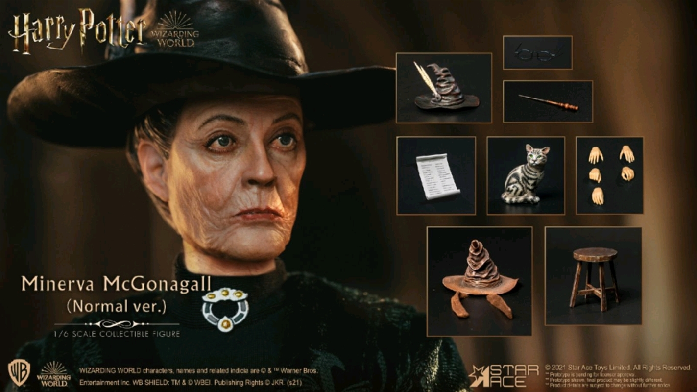 "Harry Potter - Minerva McGonagall 1:6 Scale 12"" Action Figure | Merchandise"
