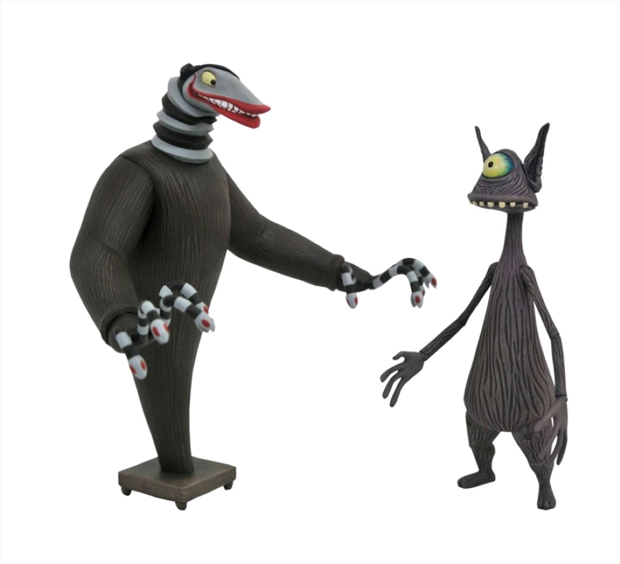 The Nightmare Before Christmas - Creature Under the Stairs Figure Set | Merchandise