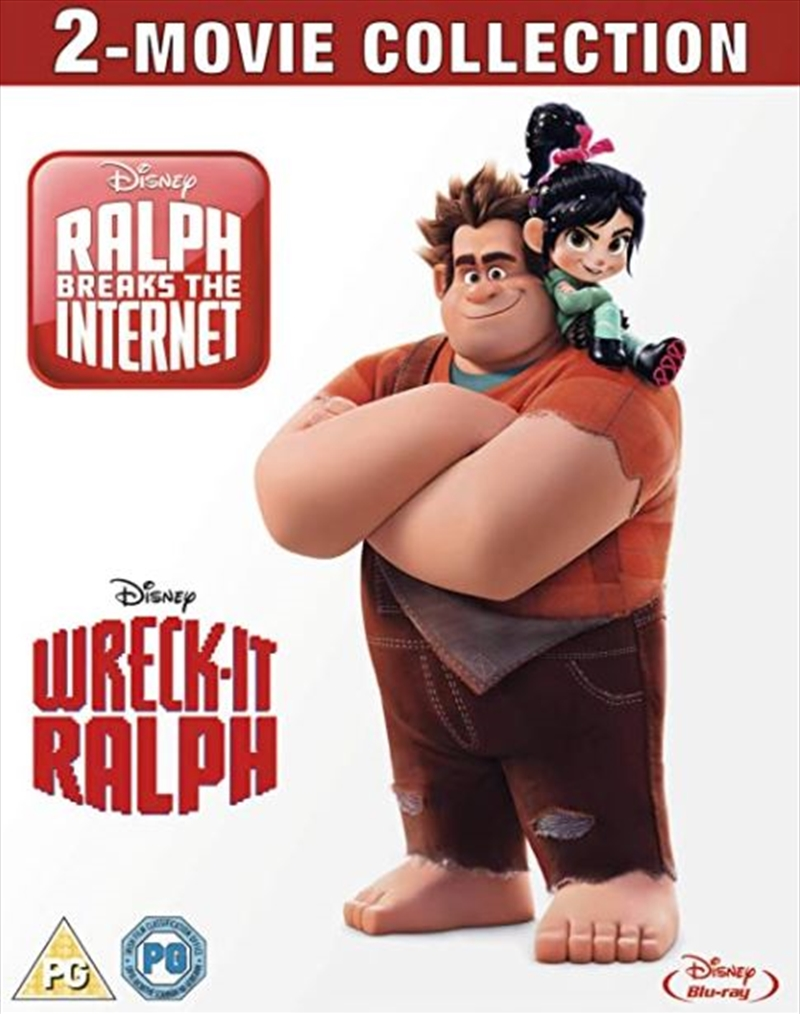 Wreck It Ralph - 1 And 2 | Blu-ray