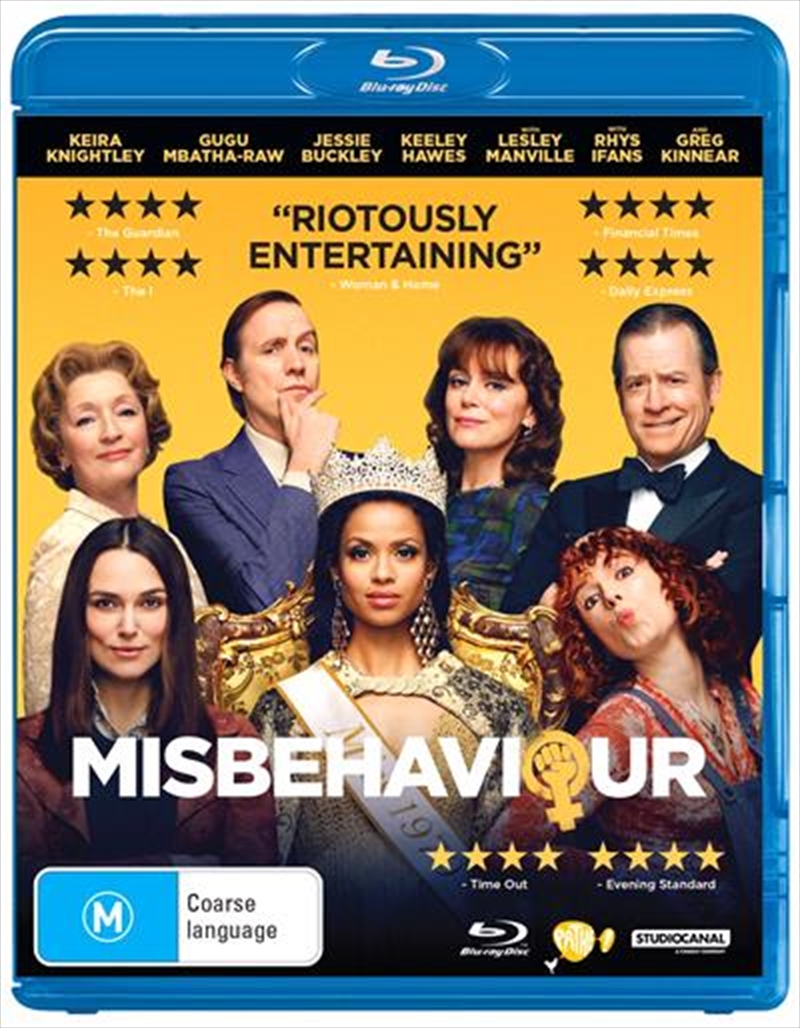 Misbehaviour | Blu-ray