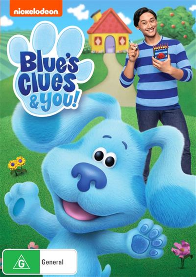 Blues Clues and You!   DVD