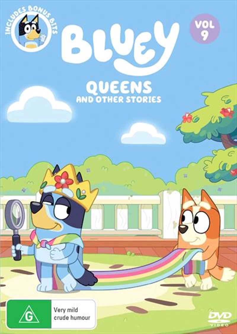 Bluey - Queens And Other Stories - Vol 9 | DVD