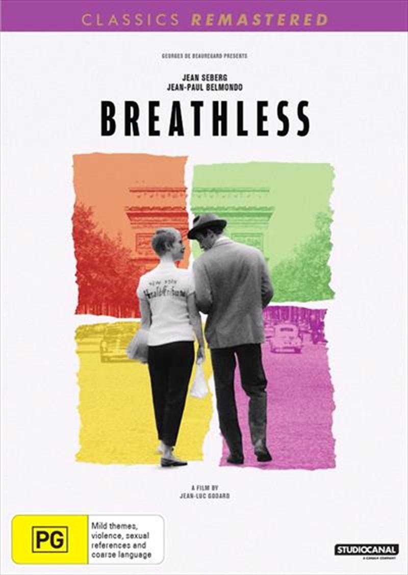 Breathless   Classics Remastered   DVD