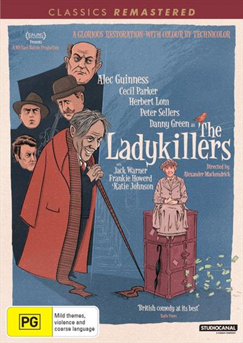 Ladykillers | Classics Remastered, The | DVD