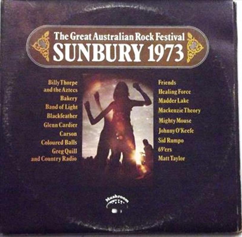 Great Australian Rock Festival - Sunbury '73 - Red Coloured Vinyl | Vinyl