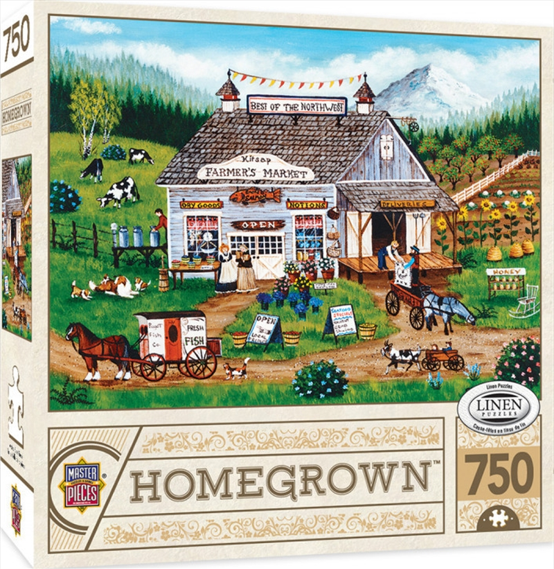 Masterpieces Puzzle Homegrown Best of the Northwest Puzzle 750 pieces | Merchandise