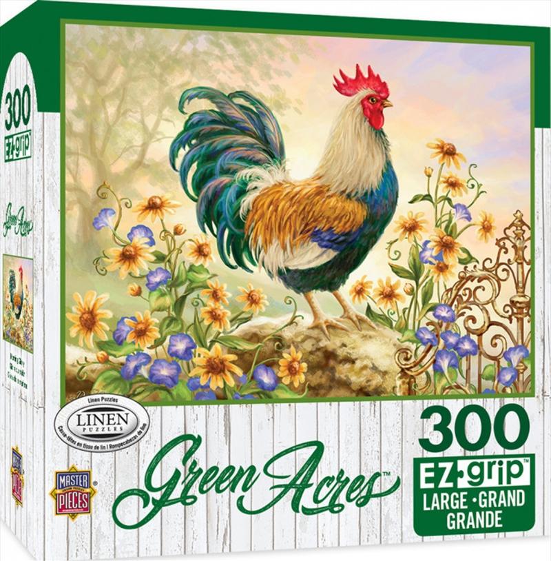 Masterpieces Puzzle Green Acres Morning Glory Ez Grip Puzzle 300 pieces | Merchandise