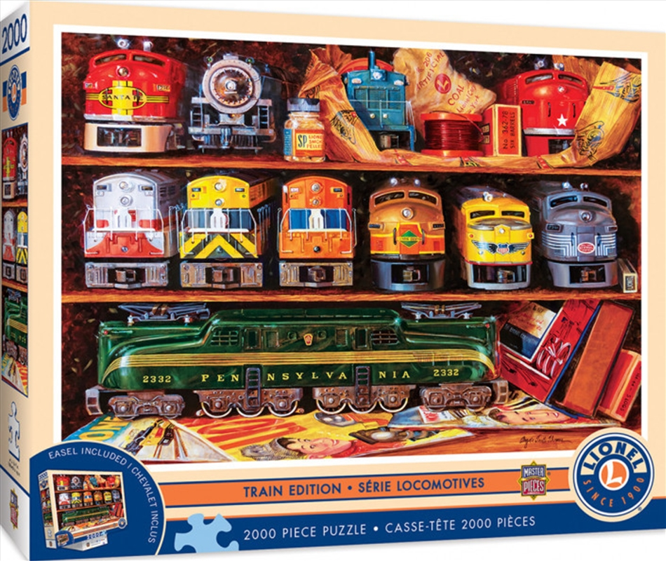 Masterpieces Puzzle Signature Collection Well Stocked Shelves Puzzle 2,000 pieces   Merchandise