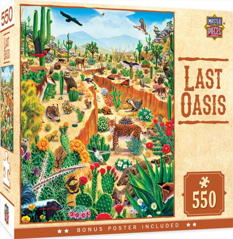 Masterpieces Puzzle Tribal Spirit Last Oasis Puzzle 550 pieces   Merchandise