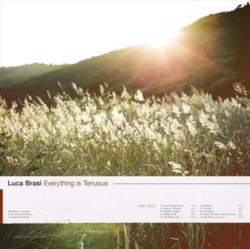 Everything Is Tenuous | CD