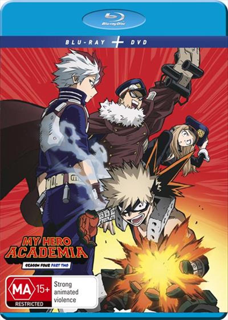 My Hero Academia - Season 4 - Part 2   Blu-ray + DVD   Blu-ray/DVD