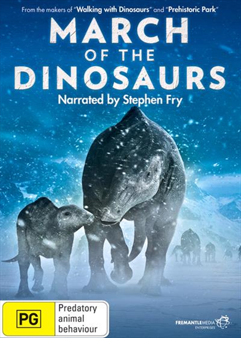 March Of The Dinosaurs   DVD