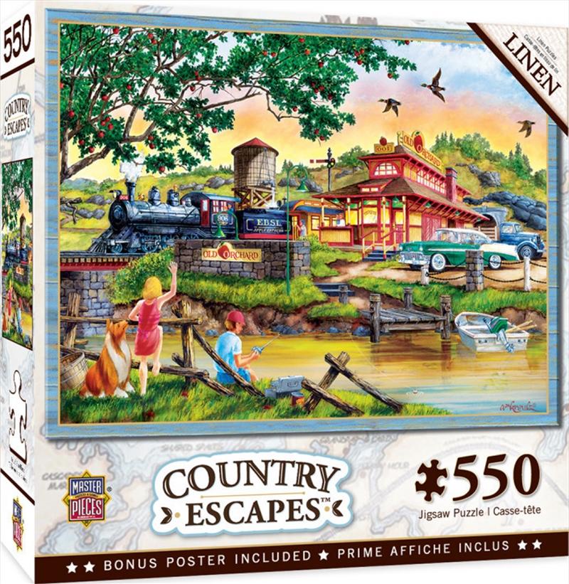 Masterpieces Puzzle Country Escapes Apple Express Puzzle 550 pieces   Merchandise