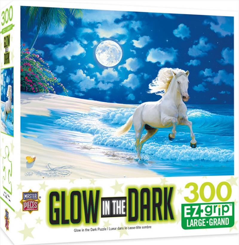 Masterpieces Puzzle Glow in the Dark Moonlit Dance Ez Grip Puzzle 300 pieces | Merchandise