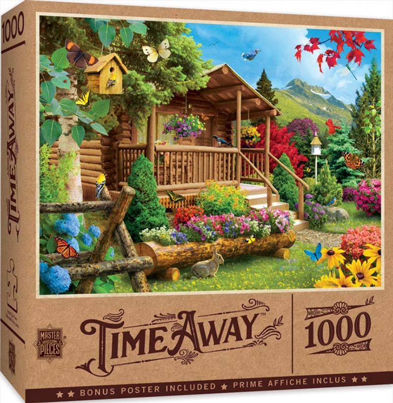 Masterpieces Puzzle Time Away Summerscape Puzzle 1,000 pieces   Merchandise