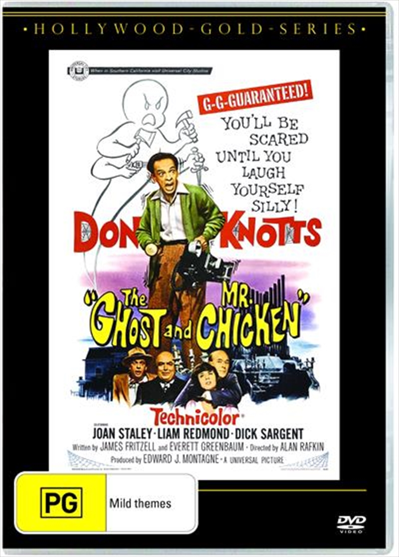 Ghost And Mr. Chicken | Hollywood Gold, The | DVD