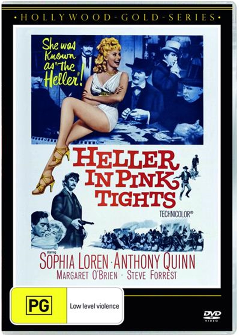 Heller In Pink Tights | Hollywood Gold | DVD