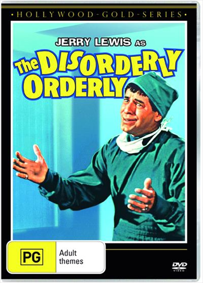 Disorderly Orderly | Hollywood Gold, The | DVD