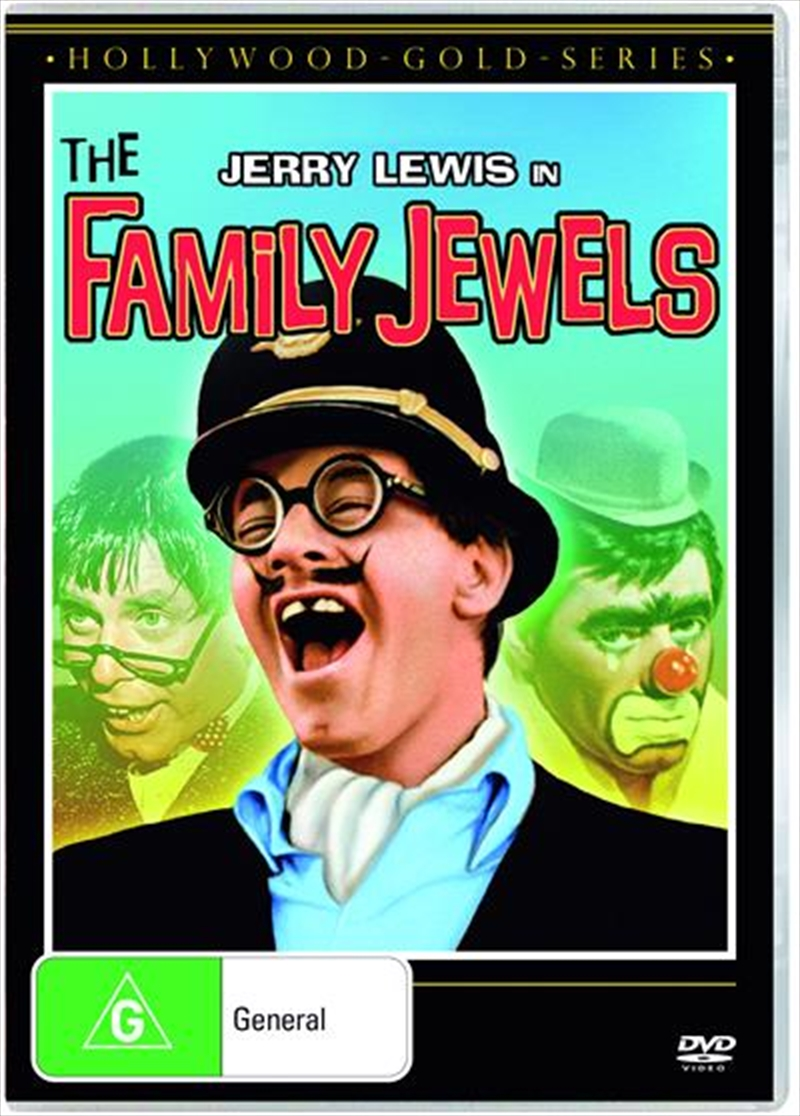 Family Jewels   Hollywood Gold, The   DVD