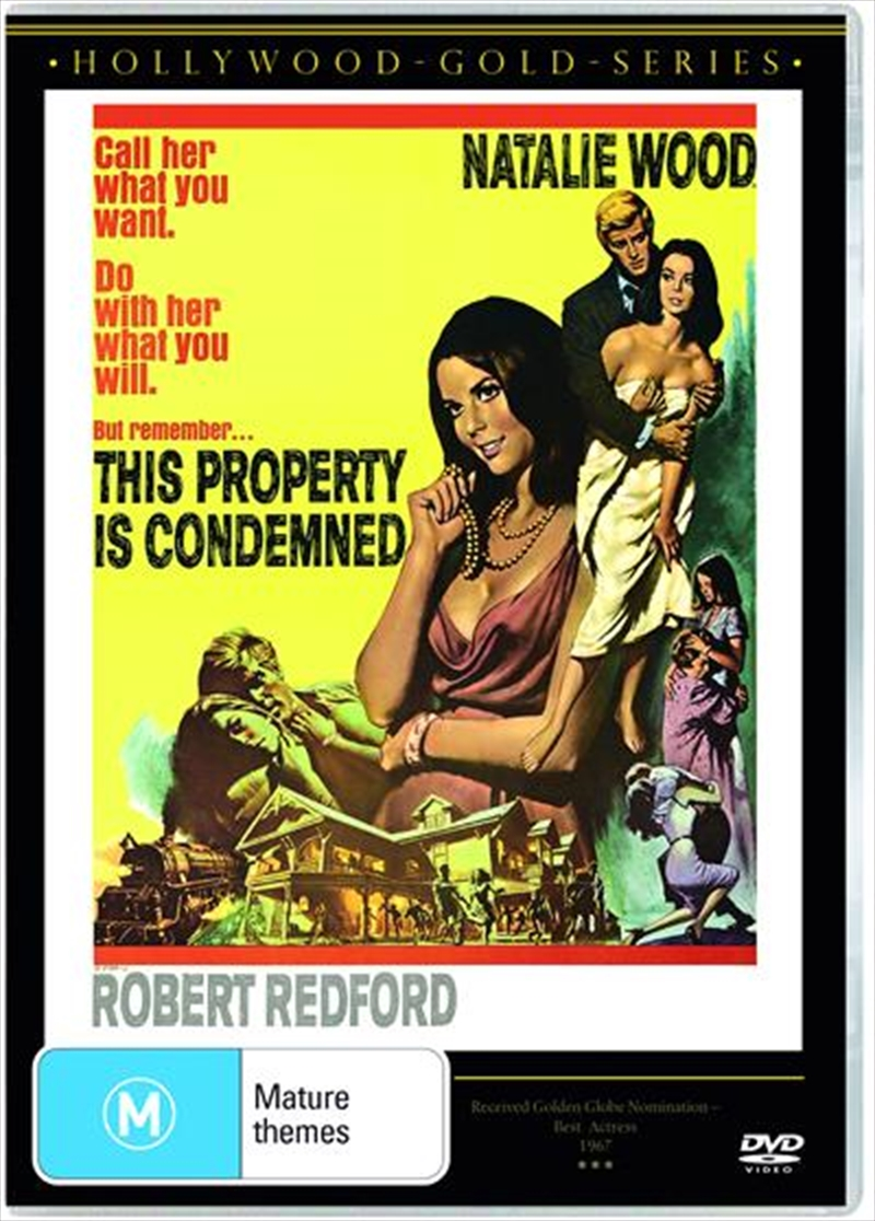 This Property Is Condemned | Hollywood Gold | DVD