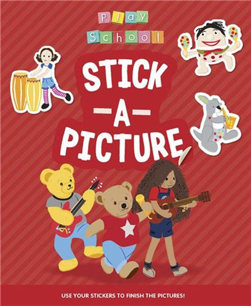 ABC KIDS Play School - Stick a Picture | Paperback Book