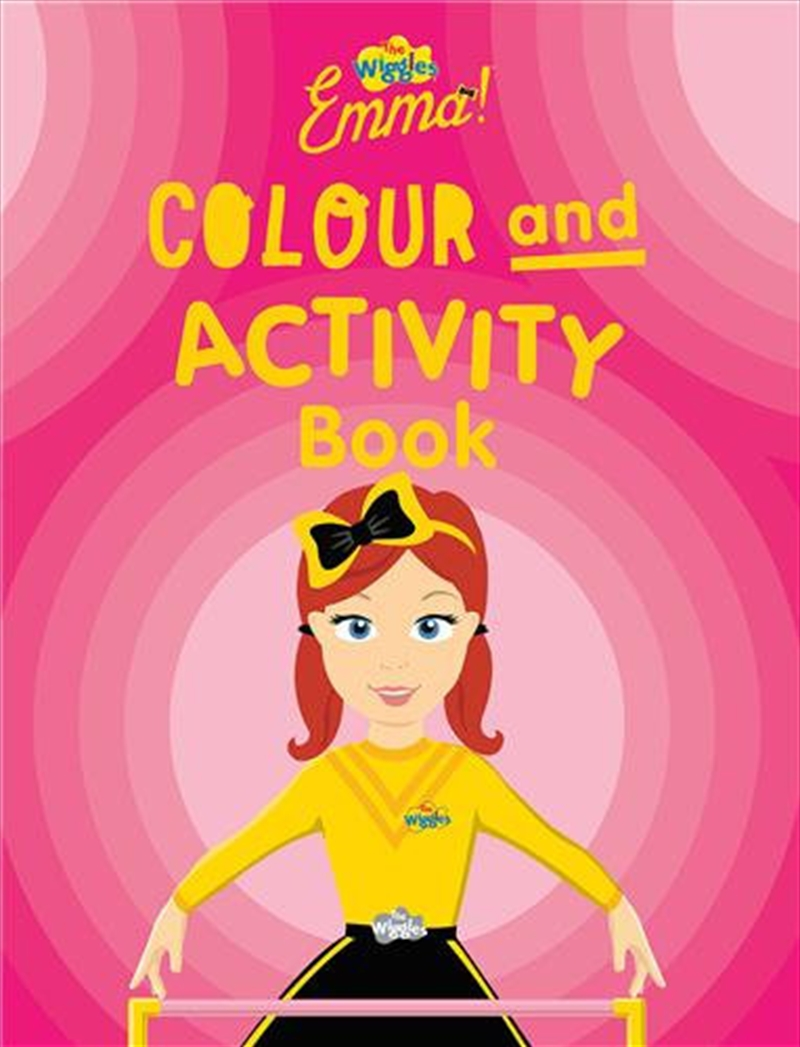 Emma Colour And Activity Book | Paperback Book