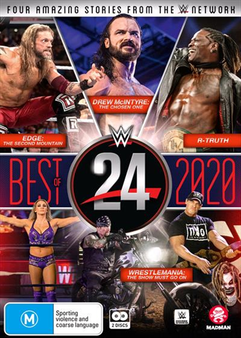 WWE - 24 The Best Of 2020 | DVD