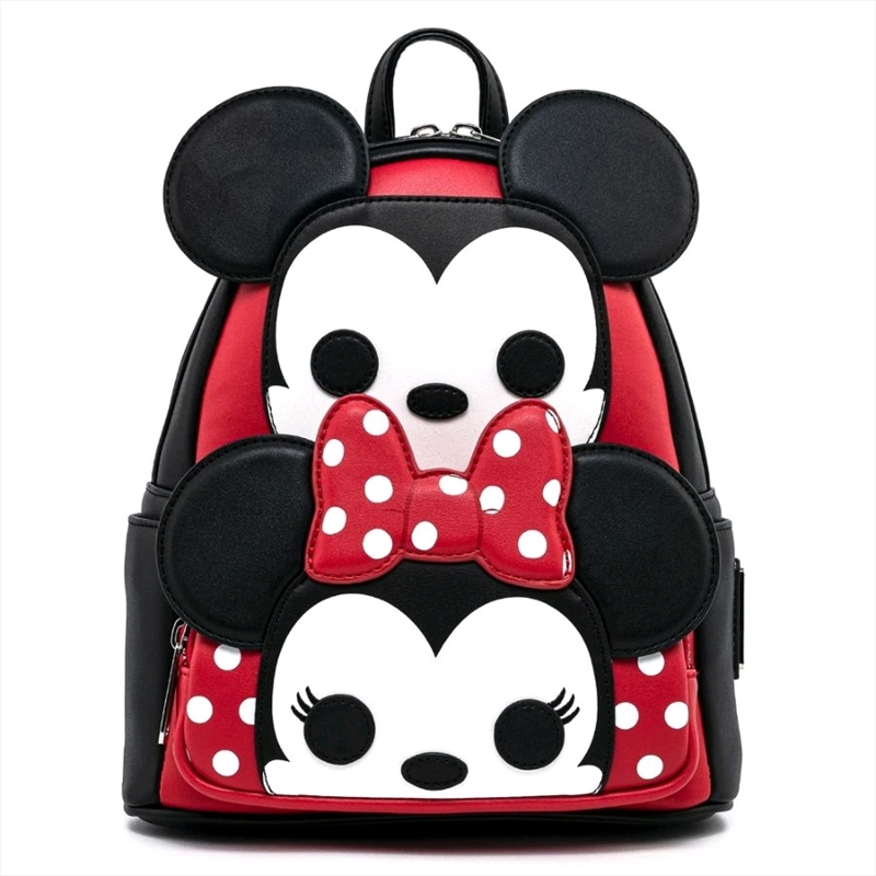 Loungefly - Mickey Mouse - Mickey And Minnie Mini Backpack   Apparel