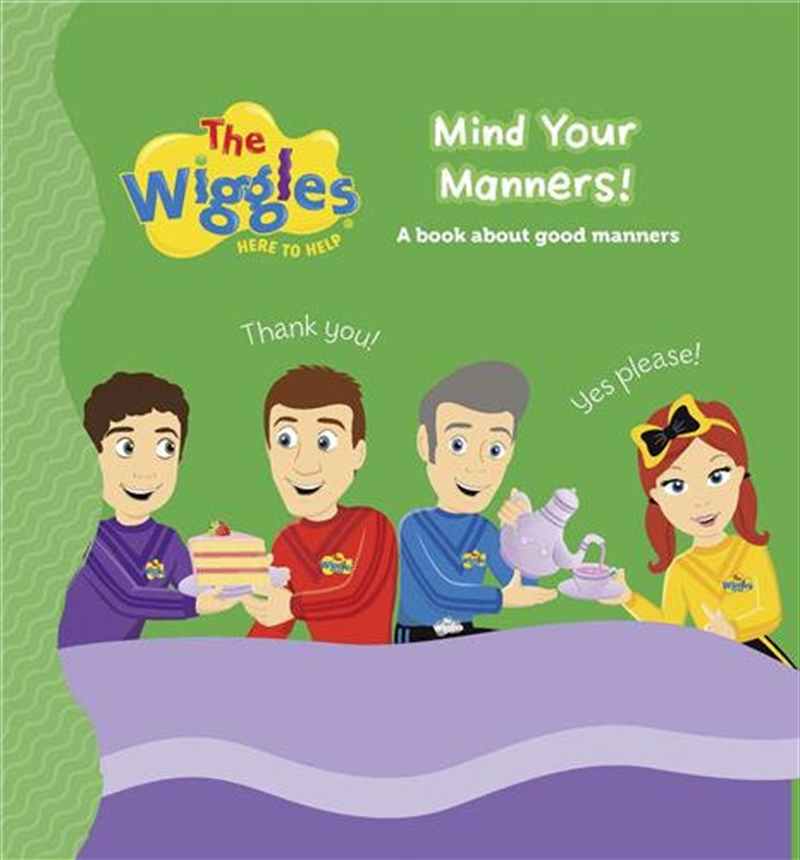 Here to Help - Mind Your Manners! | Board Book