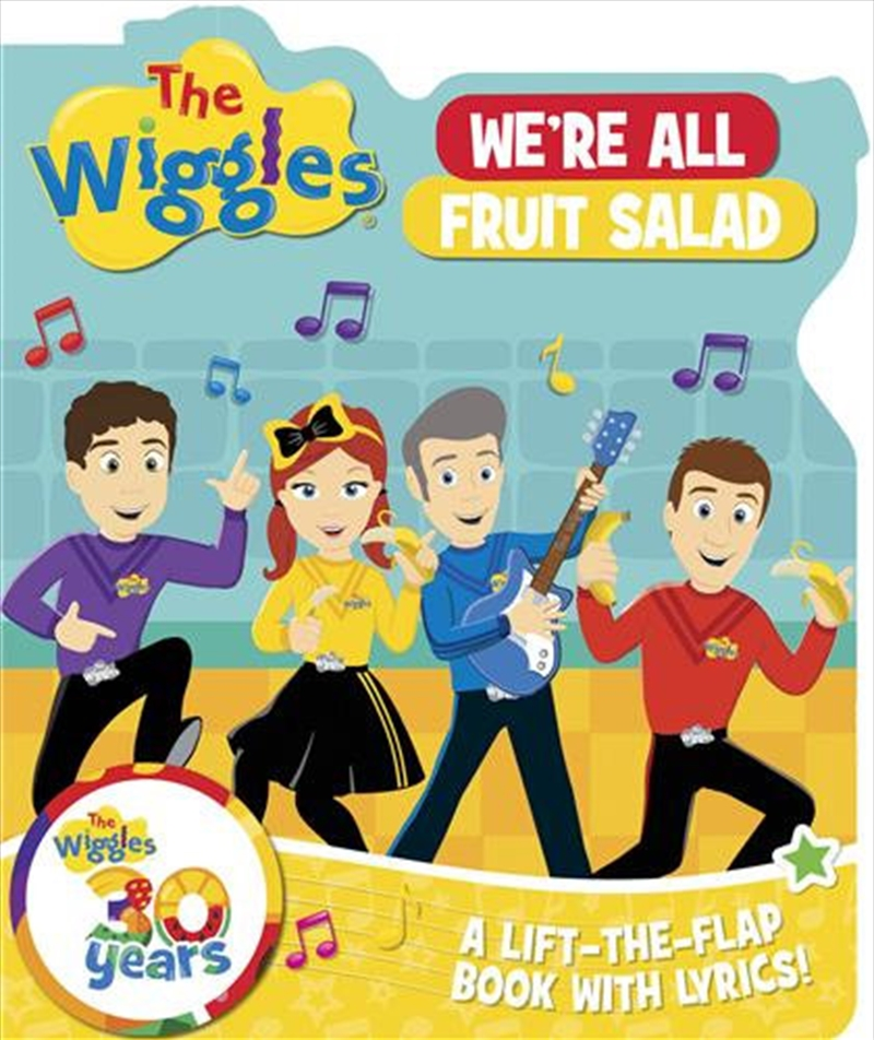 We're All Fruit Salad - Wiggles Lift the Flaps | Board Book