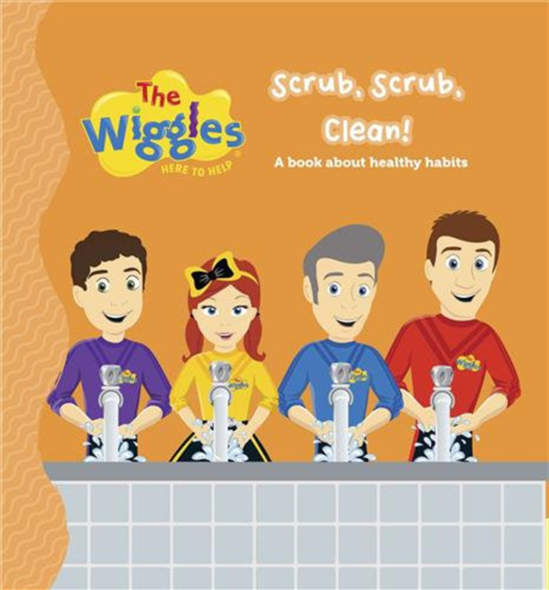 Here to Help - Scrub, Scrub, Clean! | Board Book