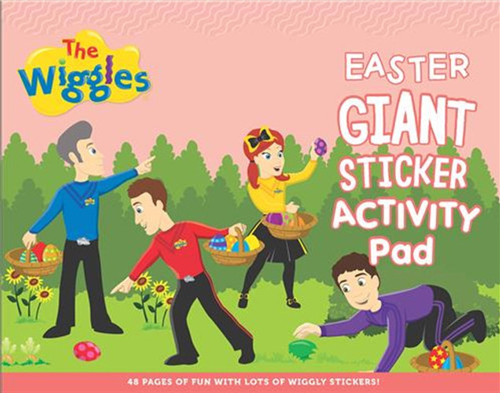 Easter Giant Sticker Activity   Paperback Book