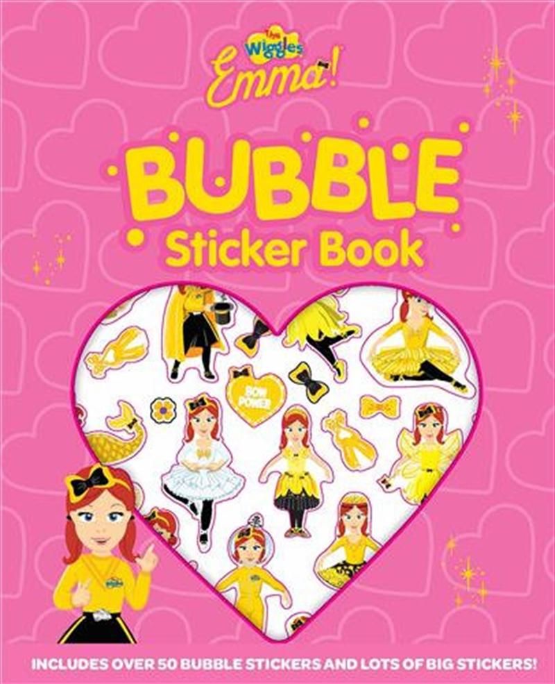 Wiggles Emma Bubble Sticker Book   Paperback Book