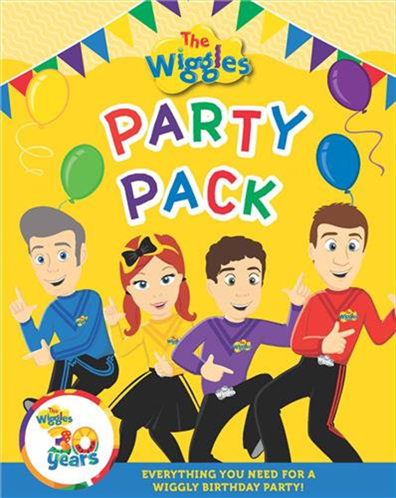 Wiggles Party Pack | Paperback Book