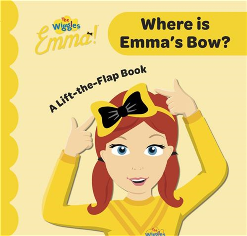 Wiggles Emma Search and Find | Board Book