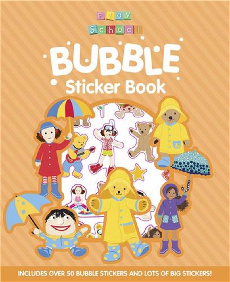 ABC Kids Play School Bubble Sticker Book | Paperback Book