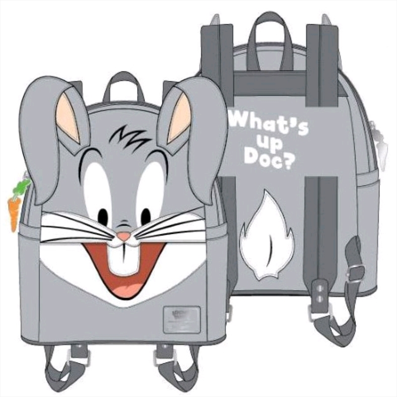 Loungefly - Looney Tunes - Bugs Bunny Mini Backpack   Apparel