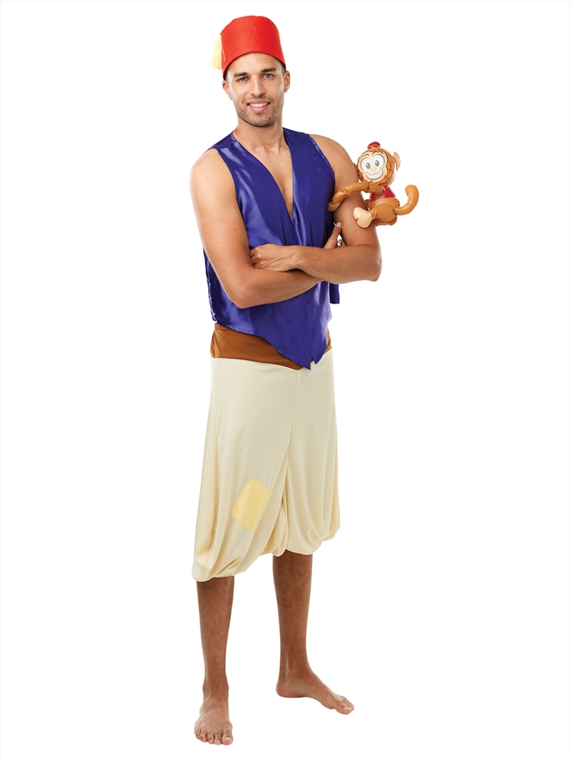 Aladdin Deluxe Costume: Adult Size XL | Apparel