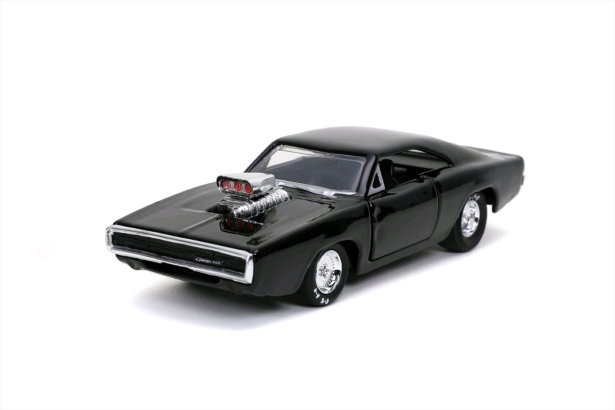 Fast and Furious 9 - 1970 Dodge Charger Black 1:32 Scale Hollywood Ride | Merchandise