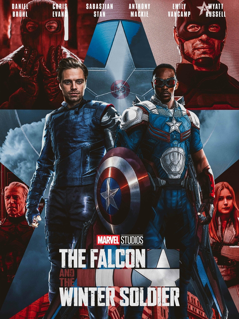 Falcon And The Winter Soldier | DVD