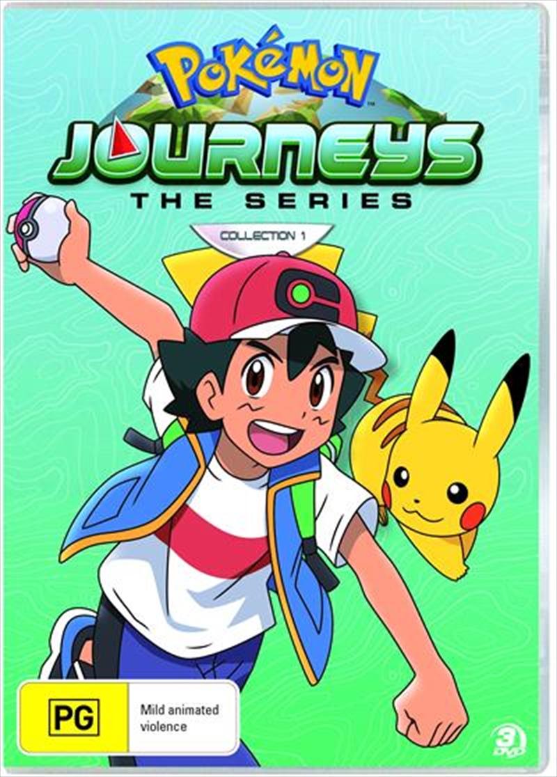 Pokemon Journeys - Season 23 - Collection 1 | DVD