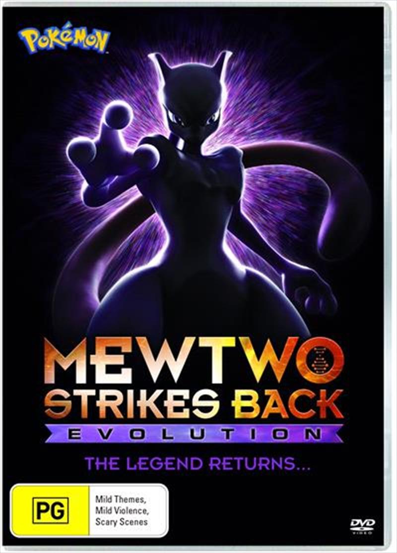 Pokemon - Mewtwo Strikes Back - Evolution   Movie 22   DVD