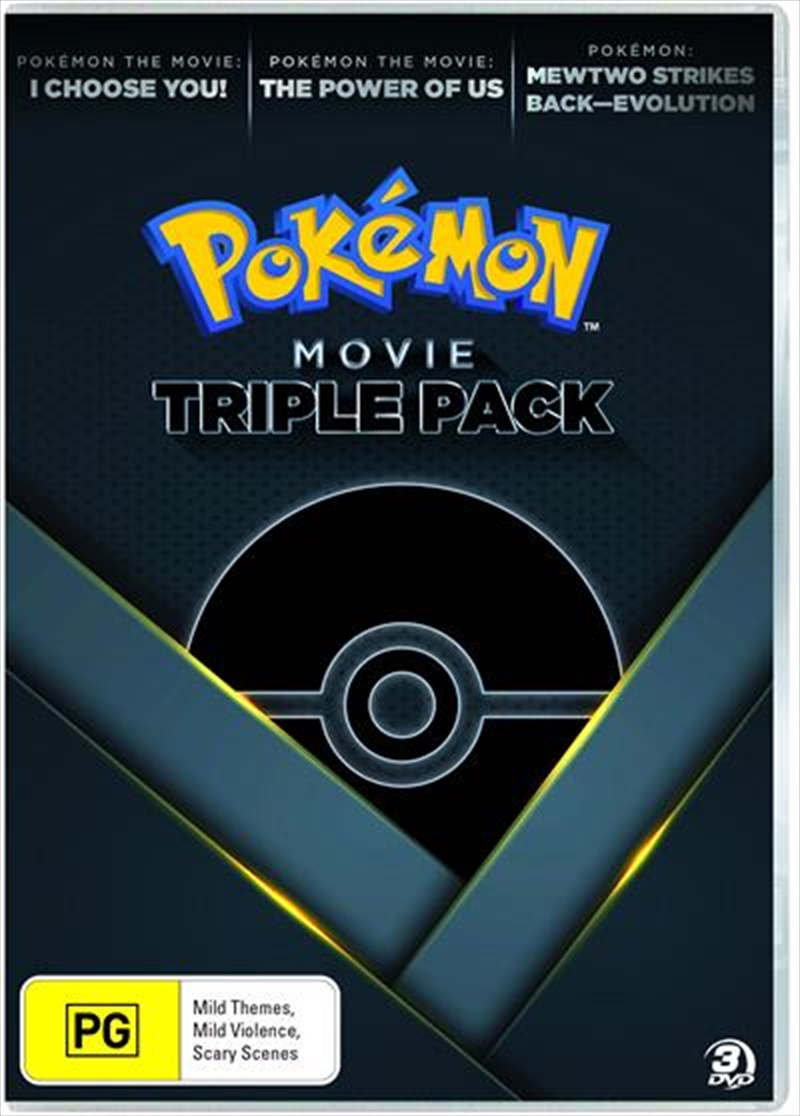 Pokemon   Movie Triple Pack   DVD