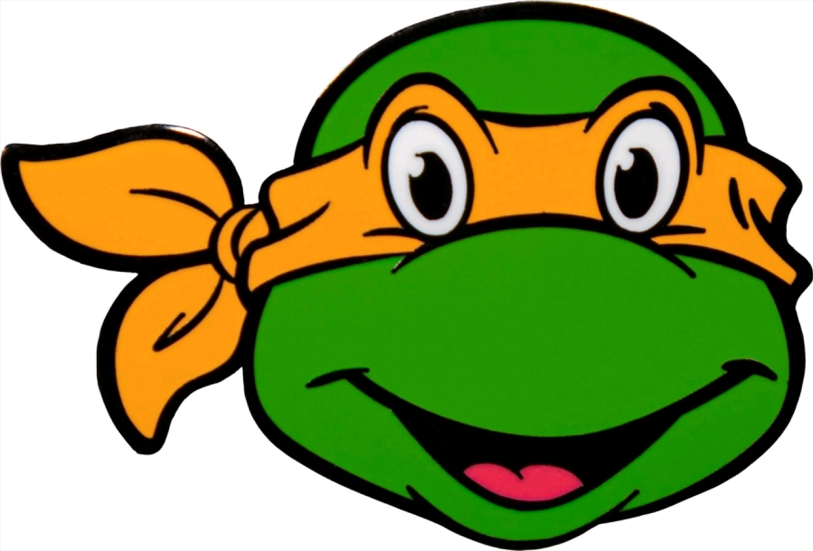 Teenage Mutant Ninja Turtles - Michaelangelo Enamel Pin | Merchandise