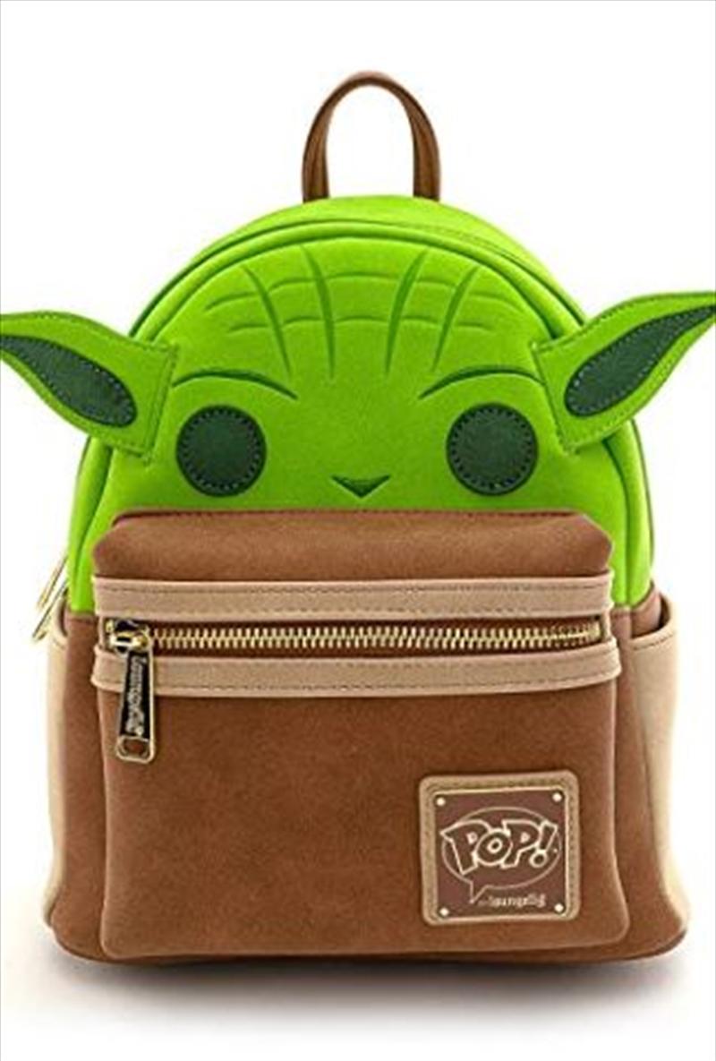 Loungefly - Star Wars - Yoda Mini Backpack   Apparel