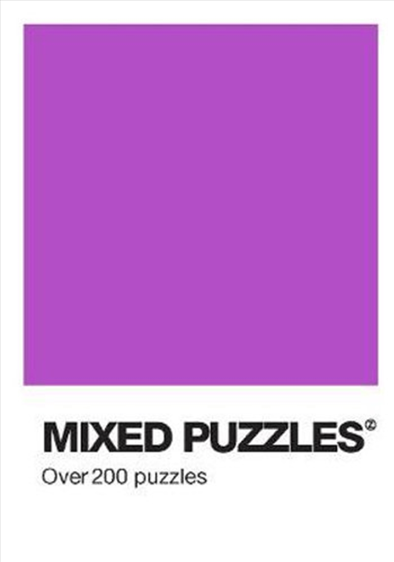 Colour Block Puzzle - Mixed Puzzles | Paperback Book