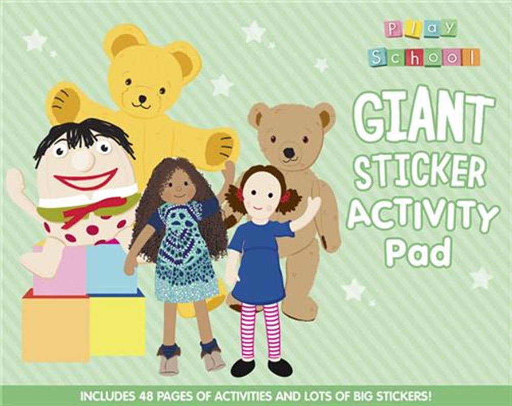 Play School Giant Sticker Activity Pad | Paperback Book