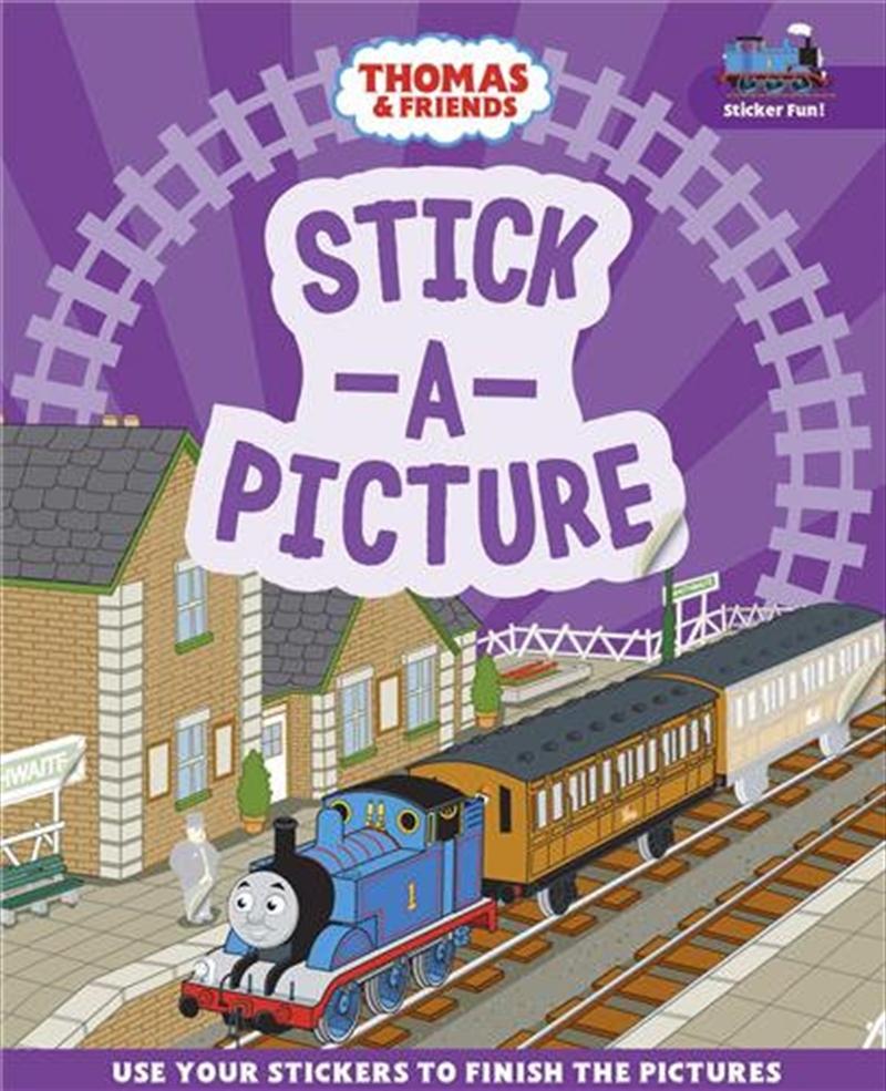 Thomas & Friends: Stick a Picture   Paperback Book